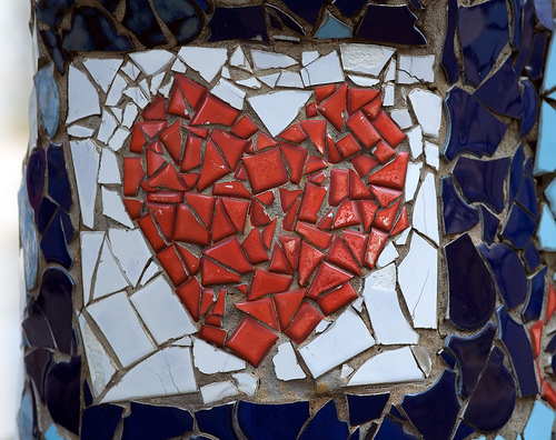 heart mosaic