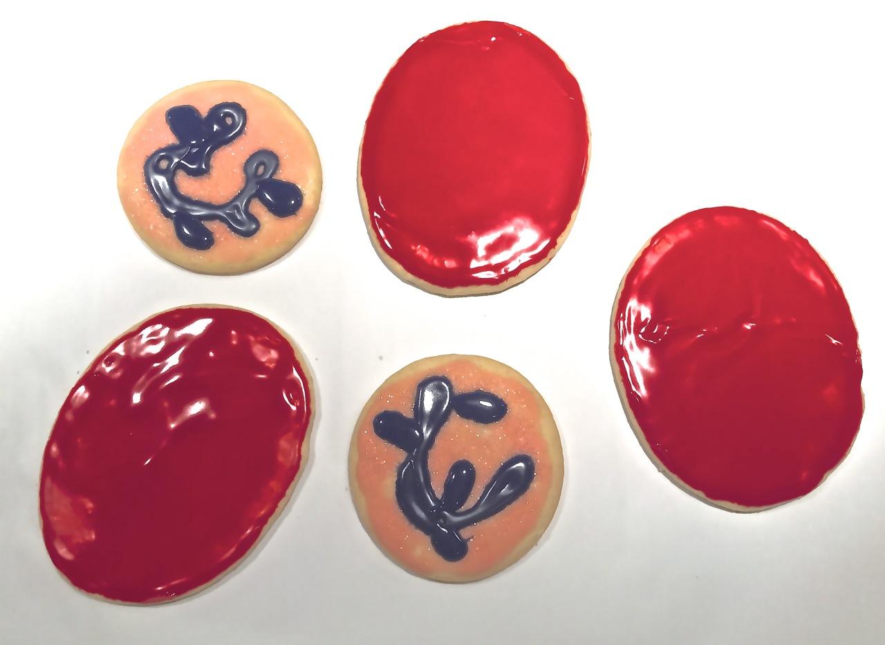 Blood cookies!